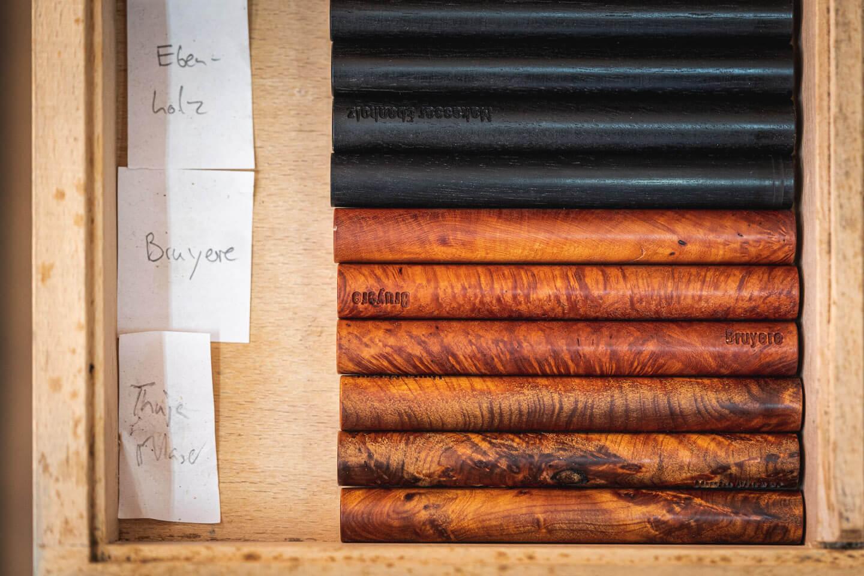 Holzauswahl für die Fertigung kostbarer Schreibinstrumente