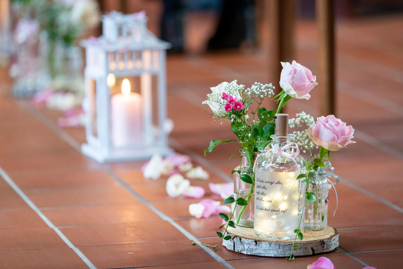 Hochzeitsschmuck kirche