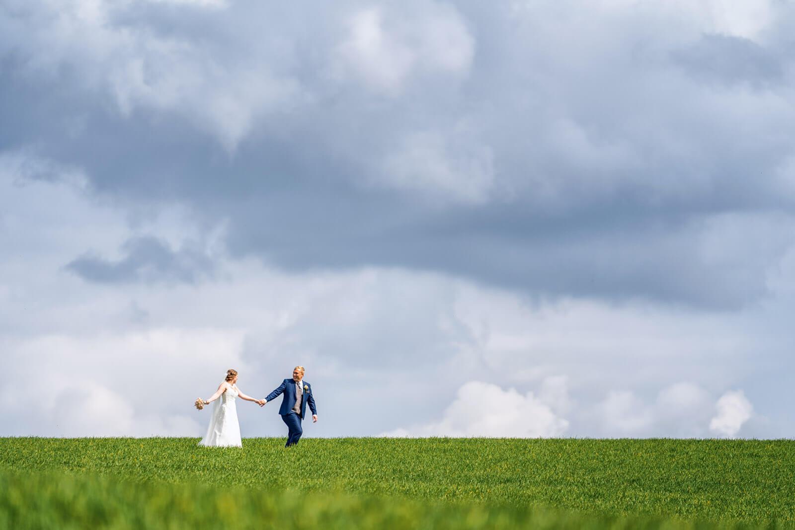 Natürliche Hochzeitsfotos Fotograf Schleswig-Holstein