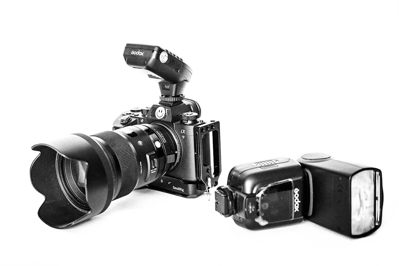 Die Kamera vom Fotograf Florian Läufer für die Portraitfotografie