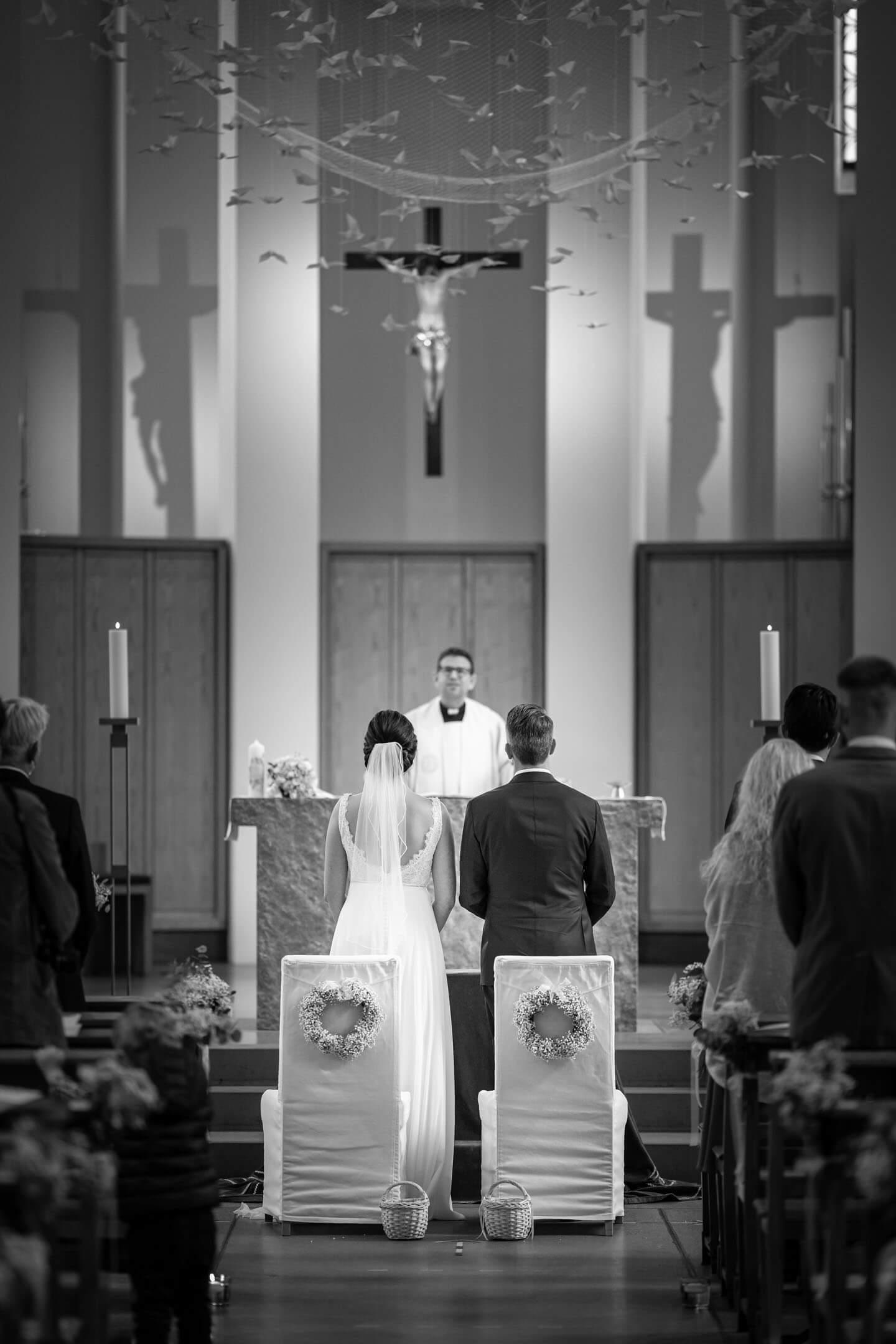 Hochzeit im kleinen Michel.