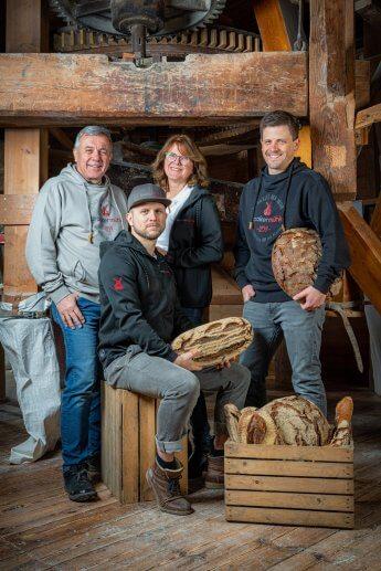 Unternehmensfotografie Hamburg: Familie Lessau, Inhaber der Braaker Mühle