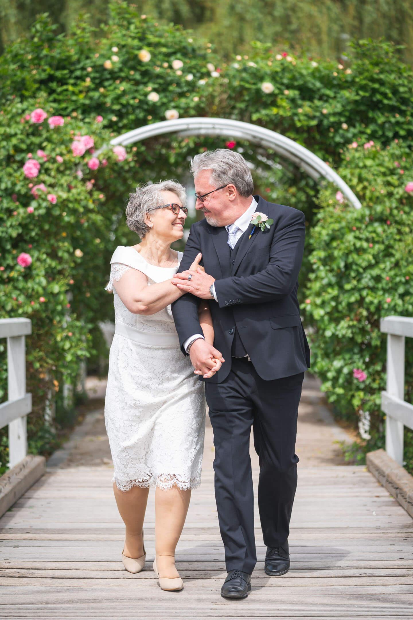 Hochzeitsinsel Rosarium Uetersen