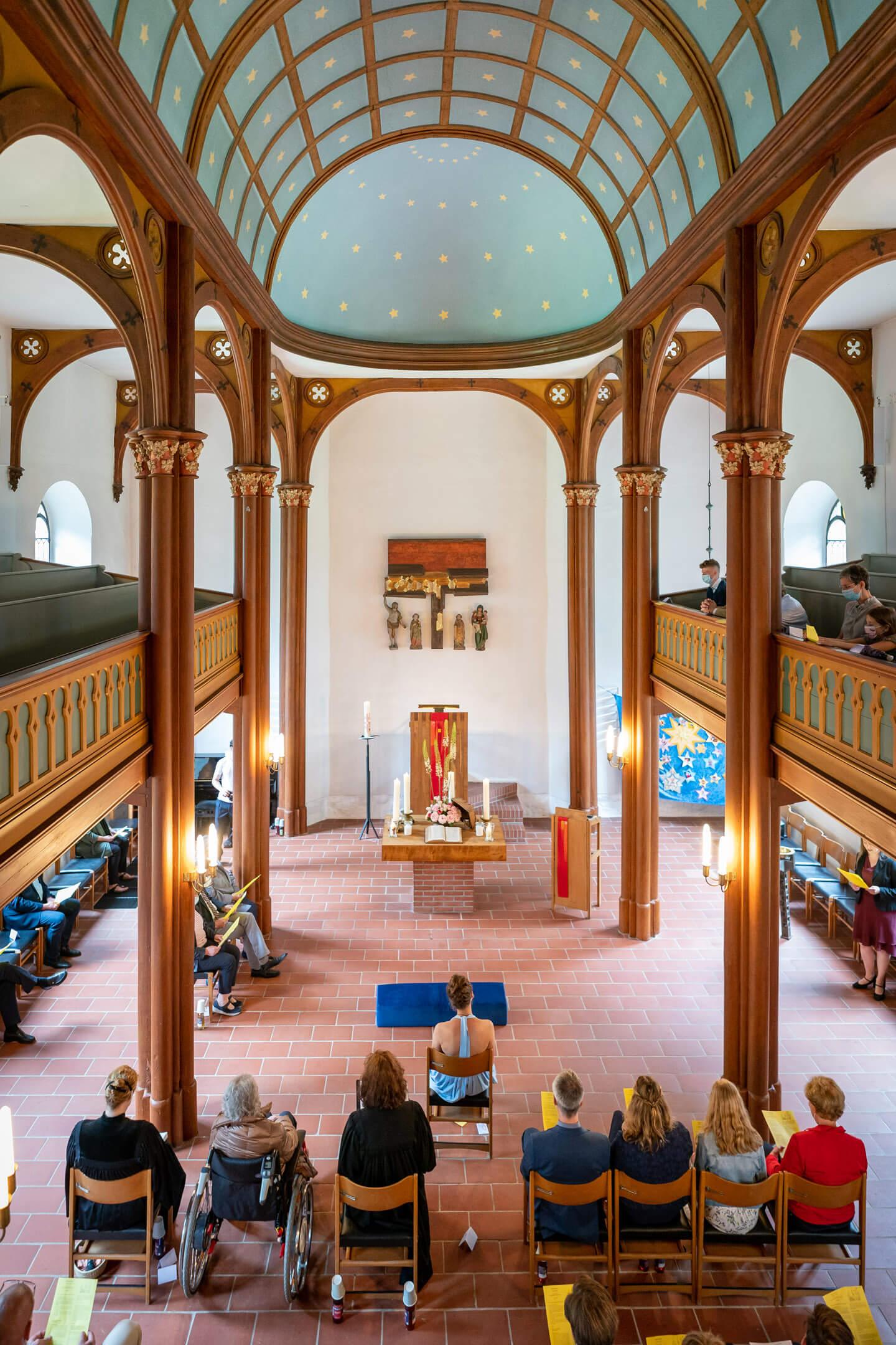 Konfirmation in der Kirche Brunstorf