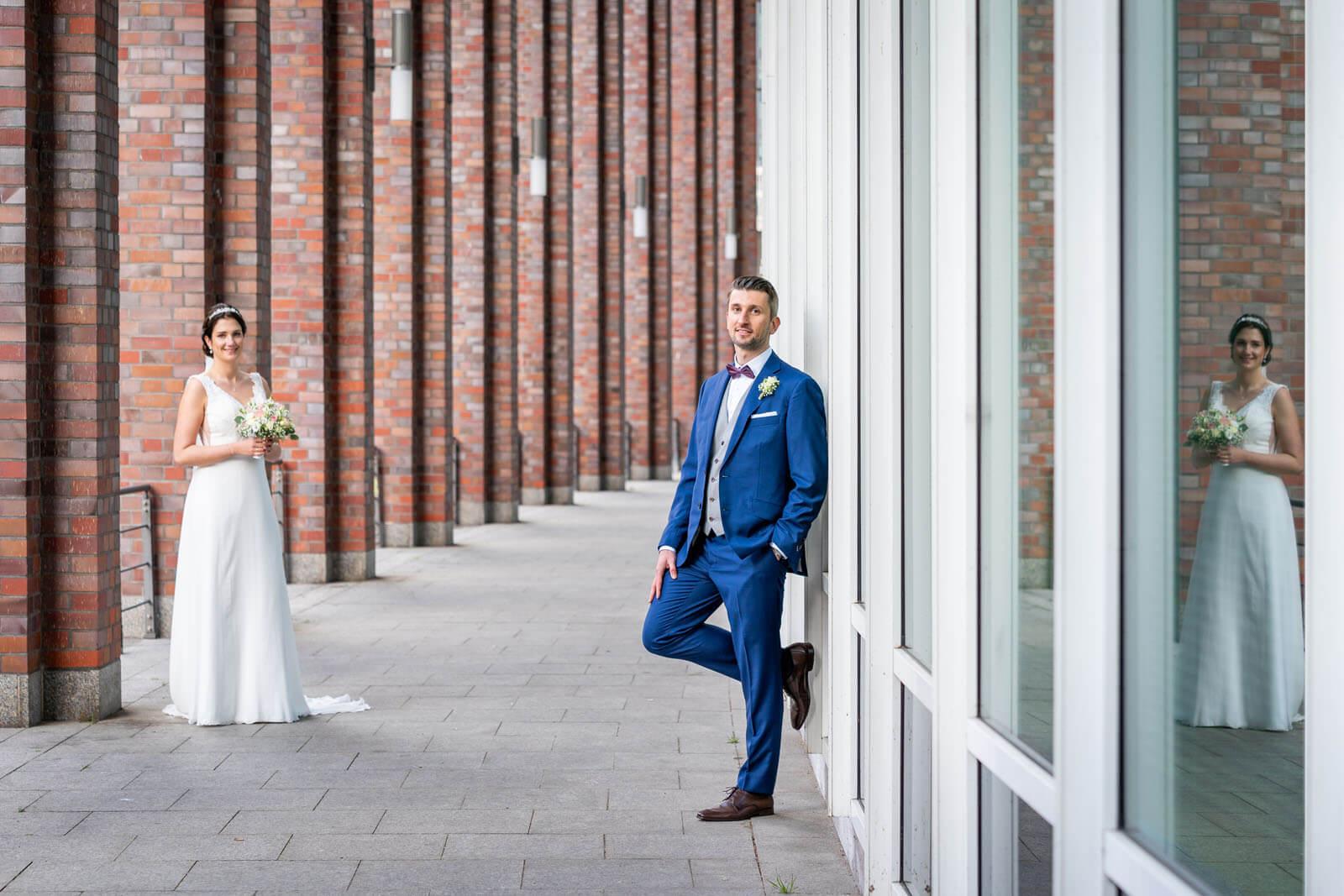 Kreative Hochzeitsfotos in Hamburg