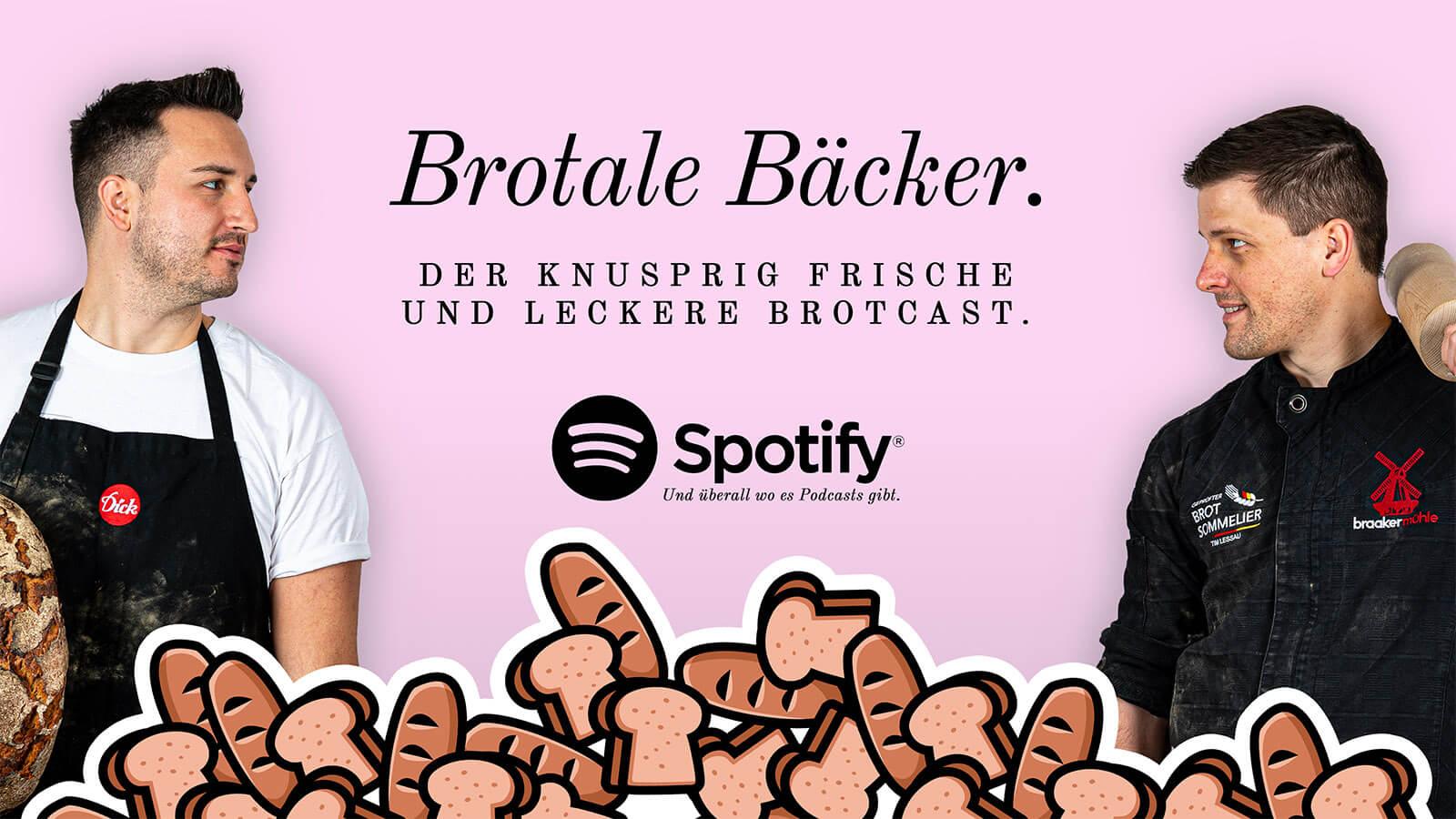 """Foto für Spotify Podcast """"Brotale Bäcker""""."""