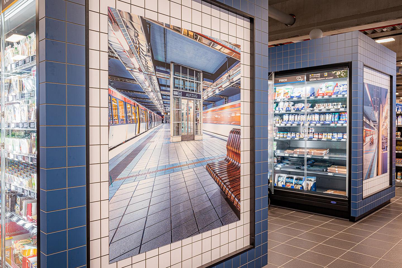 Ladenbau der Firma Storebest mit Fotografien von Florian Läufer