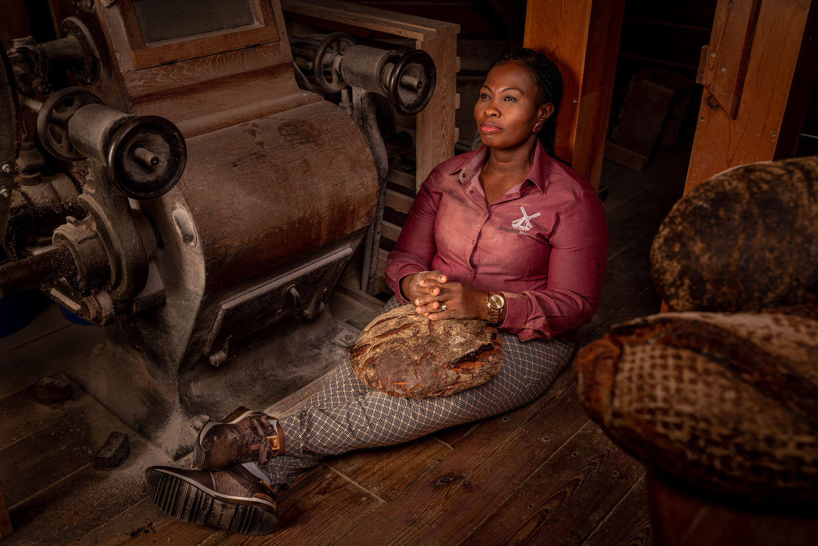 Diversity-Fotoshooting in der Braaker Mühle