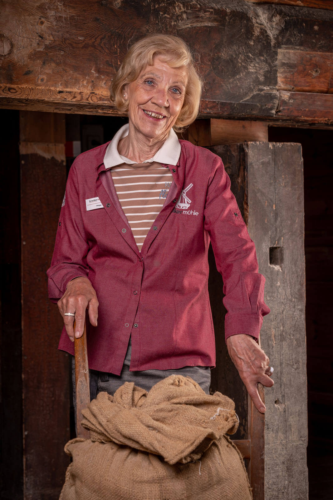Portraitfoto einer Mitarbeiterin der Braaker Mühle