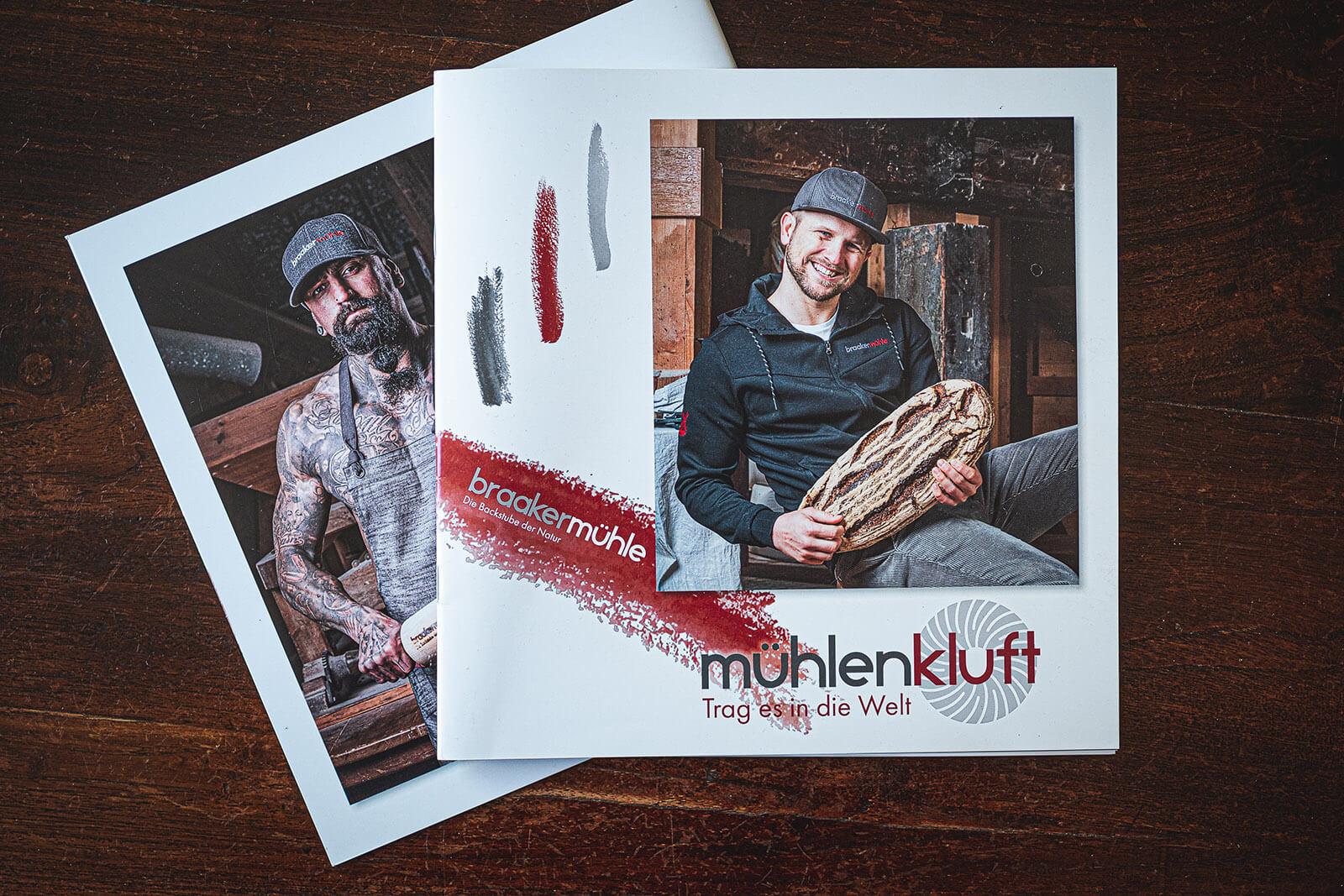 Kartalog der Mühlenkluft mit Fotografien des Hamburger Fotografen Florian Läufer