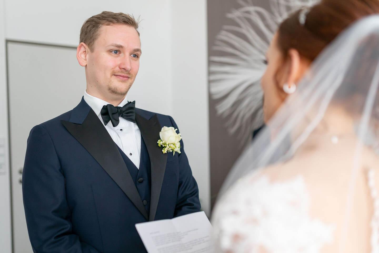 Rede der Braut im Standesamt