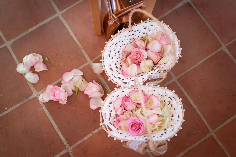 Rosenblätter für die Blumenkinder