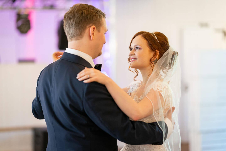 Tanz des Brautpaares