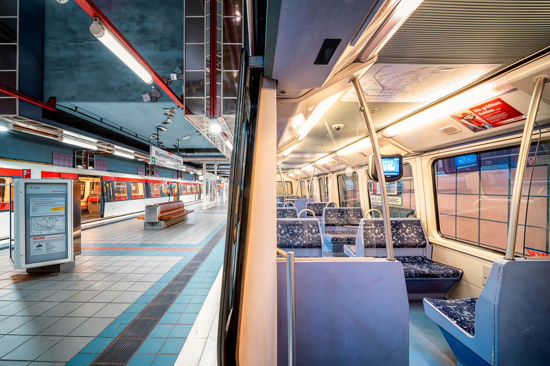 Splitshot: U Bahn und u Bahnhof