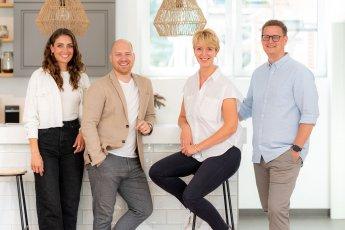Mitarbeiter-Gruppenfoto des Immobilienmaklers Kruse in Stapelfeld