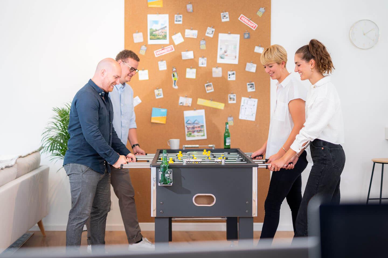 Corporatefotos eines modernen Unternehmens
