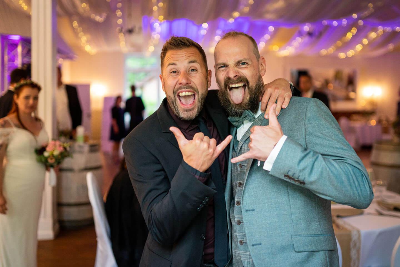 Partystimmung auf einer Hochzeit